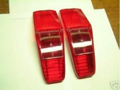 Pair New Genuine Rear Lamp Lenses 105E Anglia Estate
